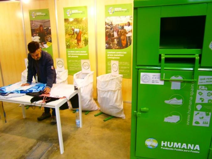 Estand d'Humana a Fira Eco.Sí de Girona