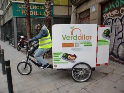 Agricultura social: tricicle de Verdallar