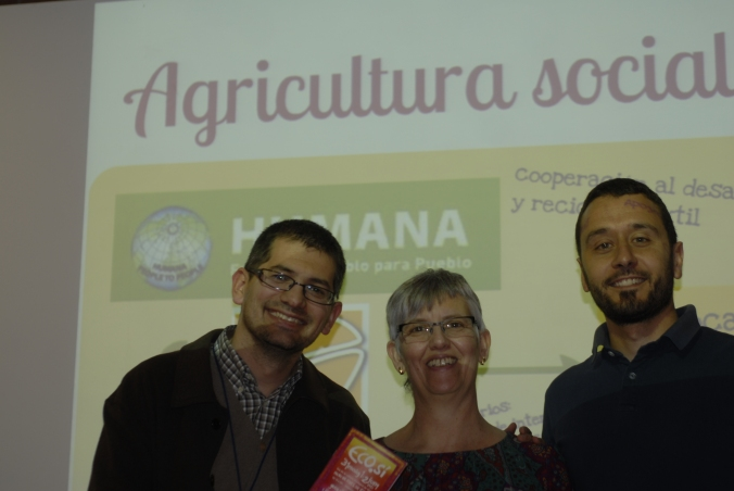 Oriol Costa, Cristina Vicente-Almazán i David Vázquez