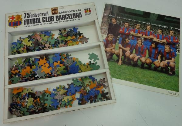 Puzzle del FC Barcelona 1973-74