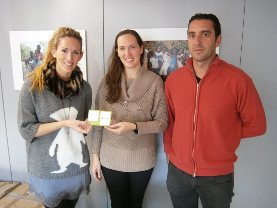 Àfrica Roigé, Mariana Franzon i Tomàs Cabrejas.