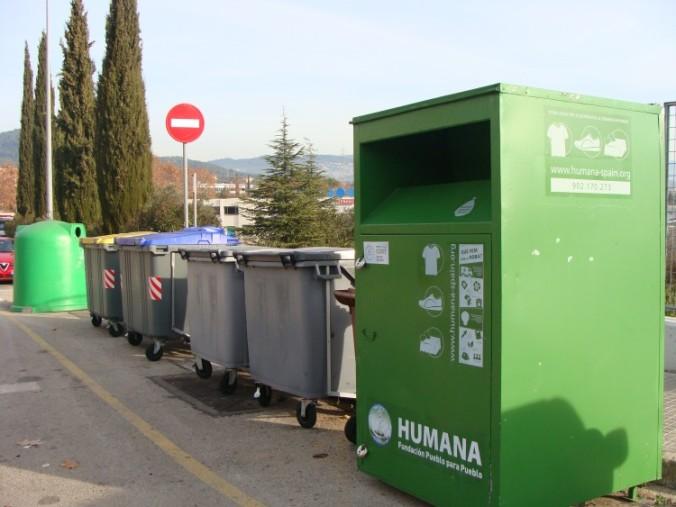 A Sentmenat tenim 13 contenidors.