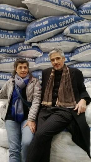 Begoña i Josep, després de la secció de peces per a l'òpera.
