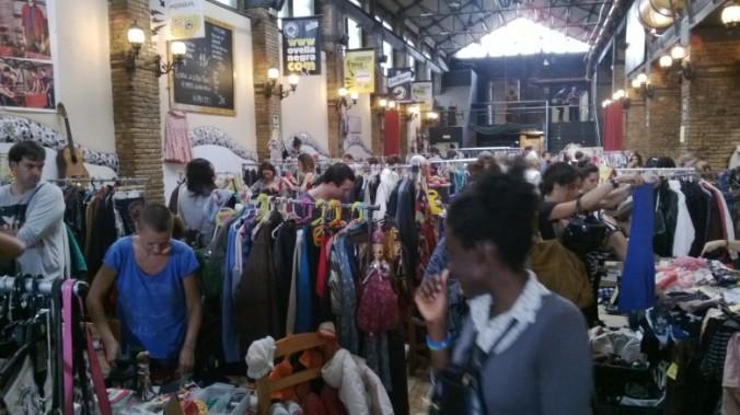 Mercat organitzat per Two Market a l'Ovella Negra del Poblenou de Barcelona.