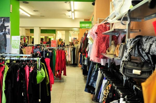 Interior d'una botiga Humana.