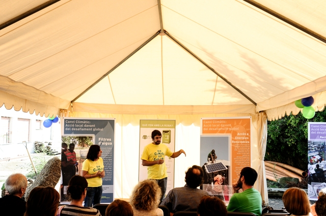 Albert Amorós, técnic agrícola, explica el projecte 3C.