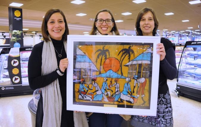 D'esquerra a dreta, Ana González, Mariana Franzon i Cristina Madrilley.